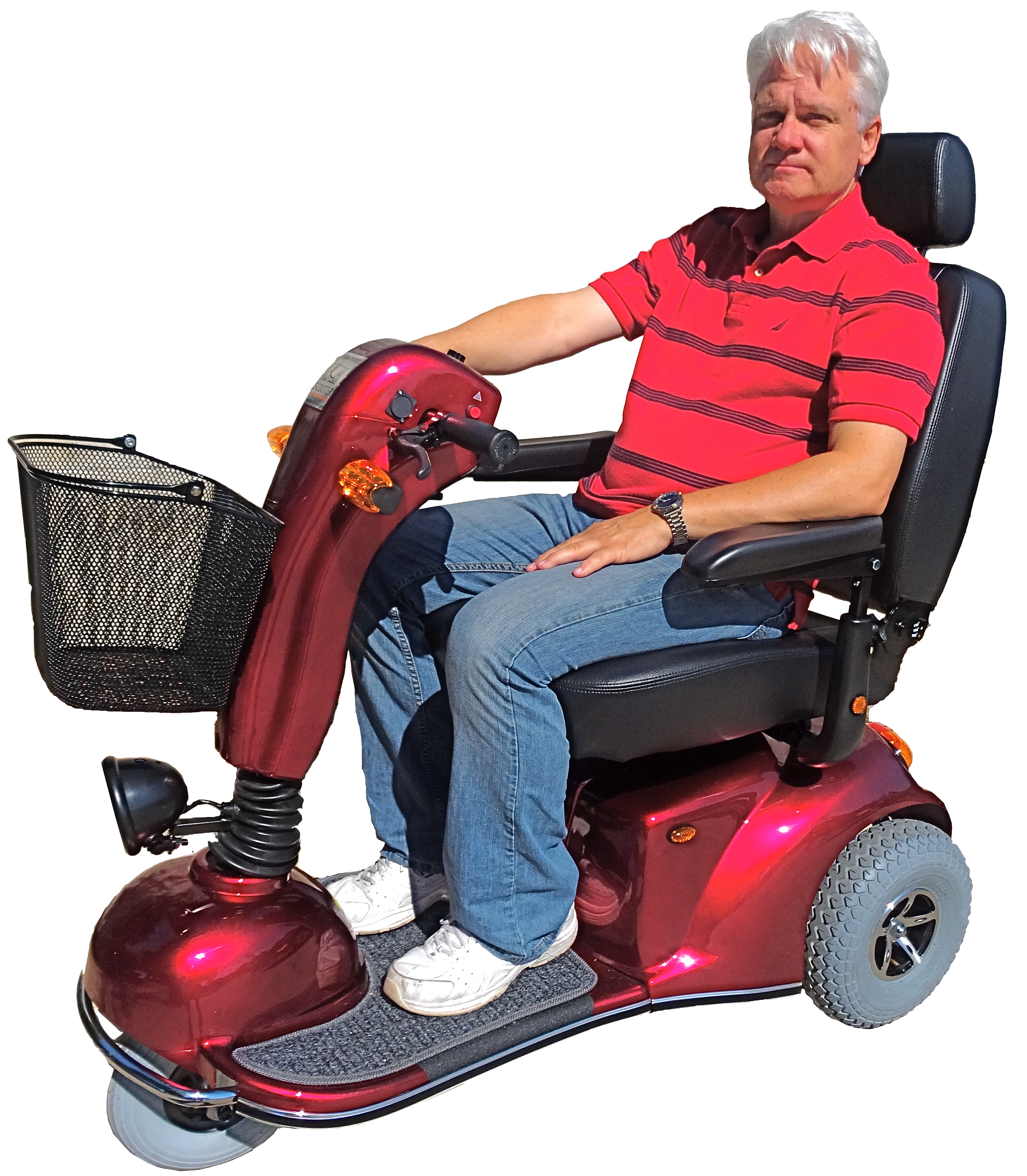 Scooter vacations announces new model fantasy for scooter for Motorized scooter disney world